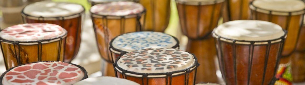 African drum team building, African drumming