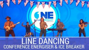 line dancing, country, conference, ice breaker, energiser, team building