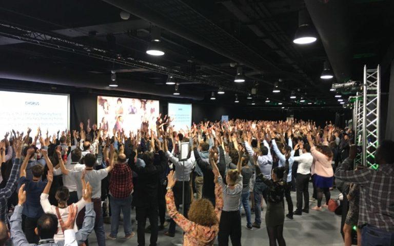 rock school, team building, conference energiser
