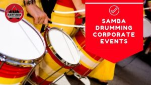 samba drumming, samba team building, drum team building