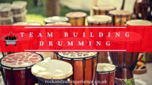 Team Building Drumming, drumming energiser, drumming ice breaker