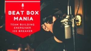 beat box, team building, conference, energiser, ice breaker, hip hop
