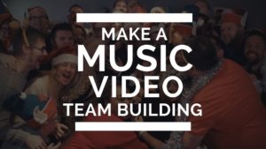 music video team building, team building, make a music video. pop video, rock video