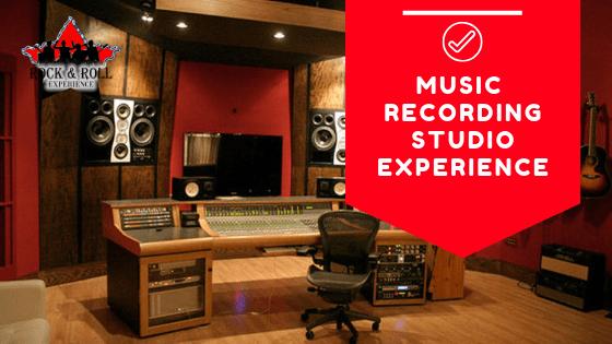 reocrding studio experience, unique team building, music team building, corporate music