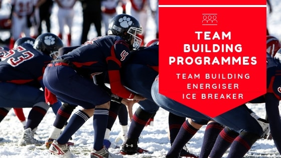 team building programmes, team building ideas, conference energiser